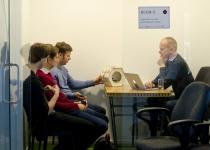 Etnobird meeskond mentorkohtumisel