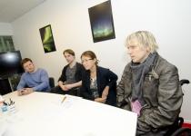 I Can Move meeskond esitamas oma ideed Prototroni TOP20 mentorp_żeva kohtumisel